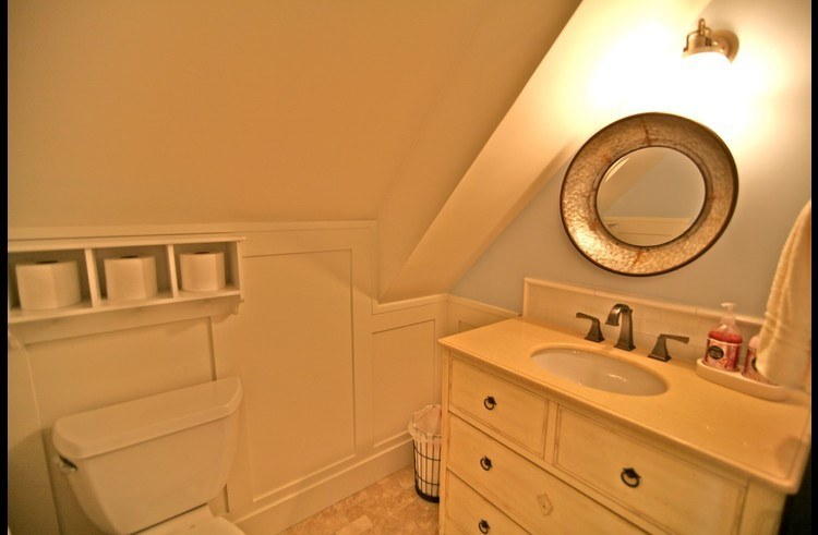 Bathroom on upper level