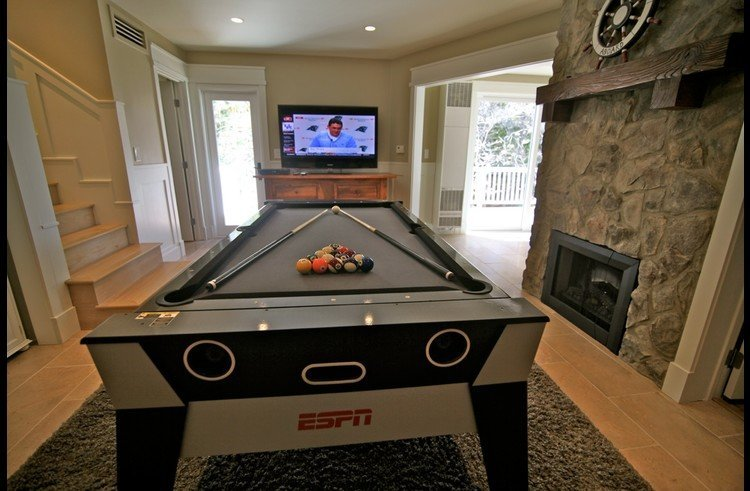 ESPN billiards table