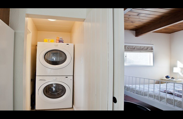 Laundry room on main level