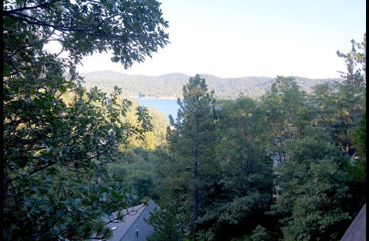 View of Lake Arrowhead from the decks