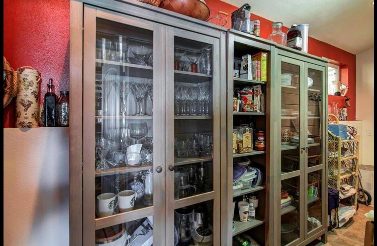 Large walk-in pantry off the kitchen