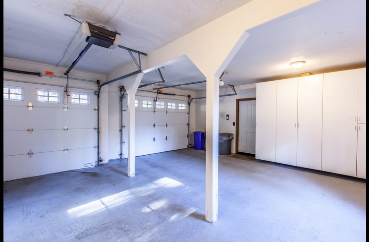 Oversized attached garage available for your use