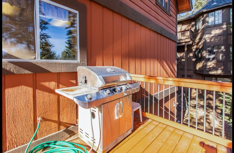 BBQ on outside deck