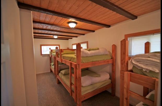 Bunk room on main level