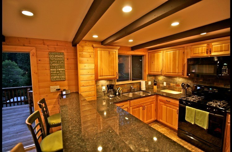 Village Chalet kitchen