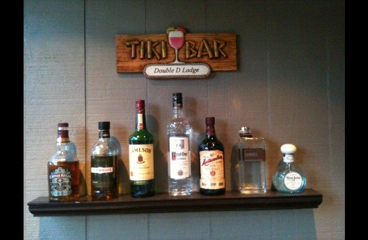 Bring your favorite drinks to stock the Tiki Bar