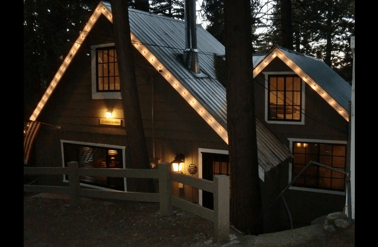 Dusk at the Double D Lodge