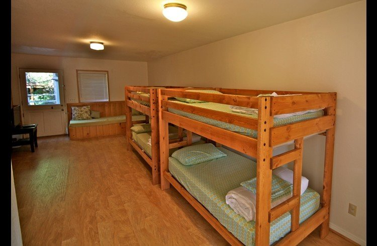 Bunk room on lower level