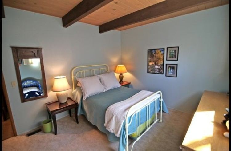 Guest room 3 on lower level with full size bed