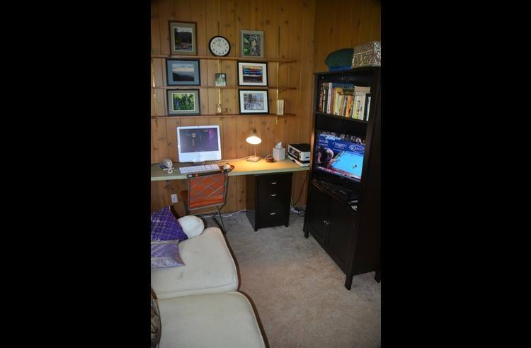 TV in the upstairs loft off the master bedroom