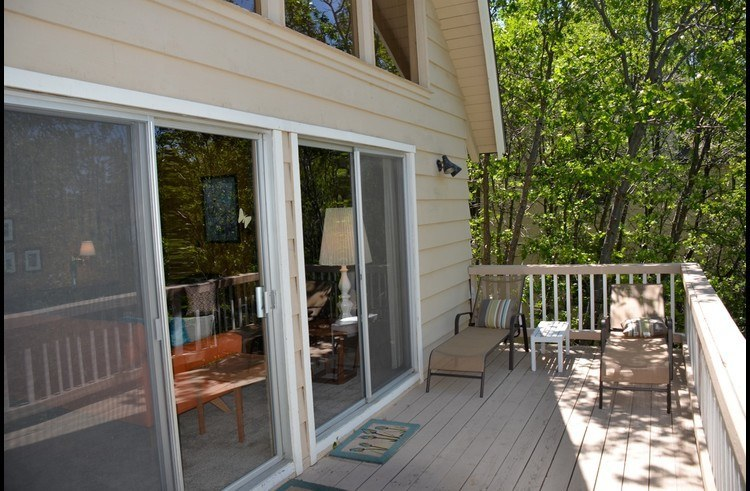 Deck on main level