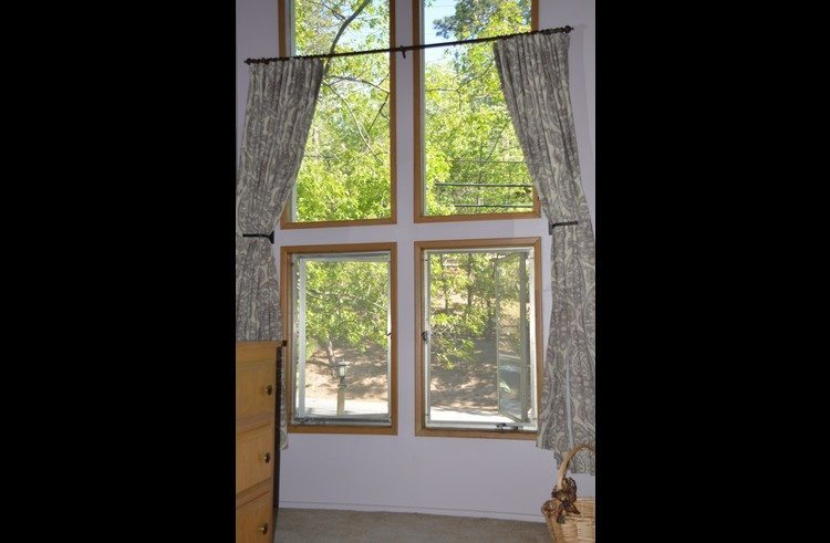 Window view from the master bedroom